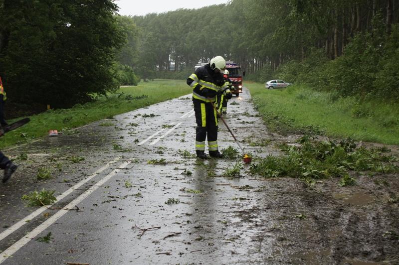 Overzicht stormschades Noord-West Friesland