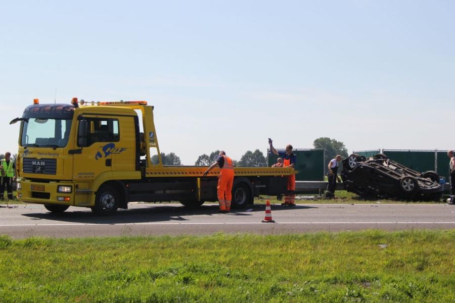Dodelijk ongeval A7 Joure