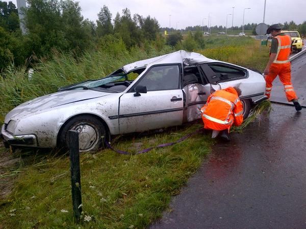 Opnieuw ongevallen op snelwegen Heerenveen