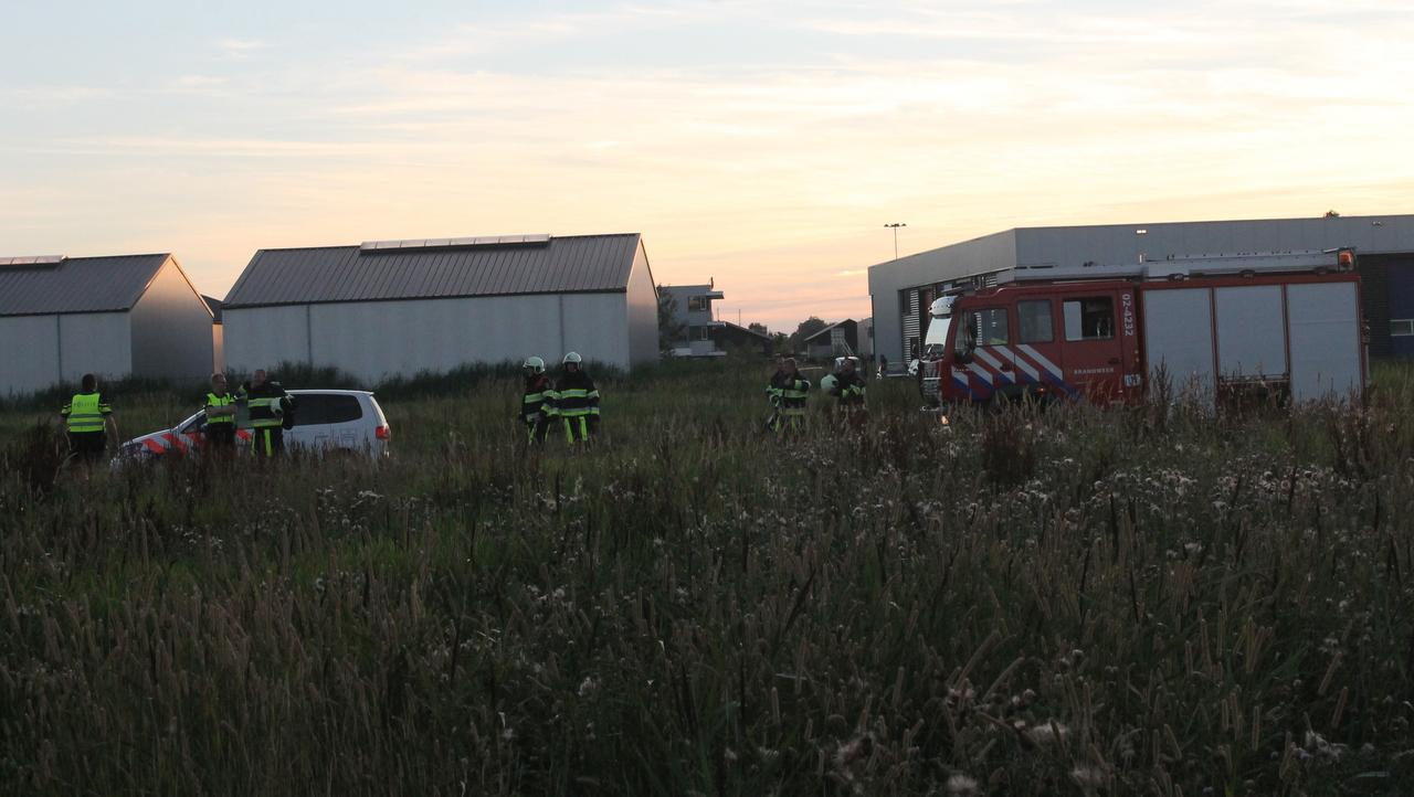 Buitenbrand door politie geblust