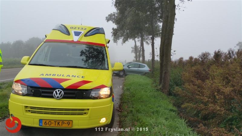 Ongevallen door modder op de weg