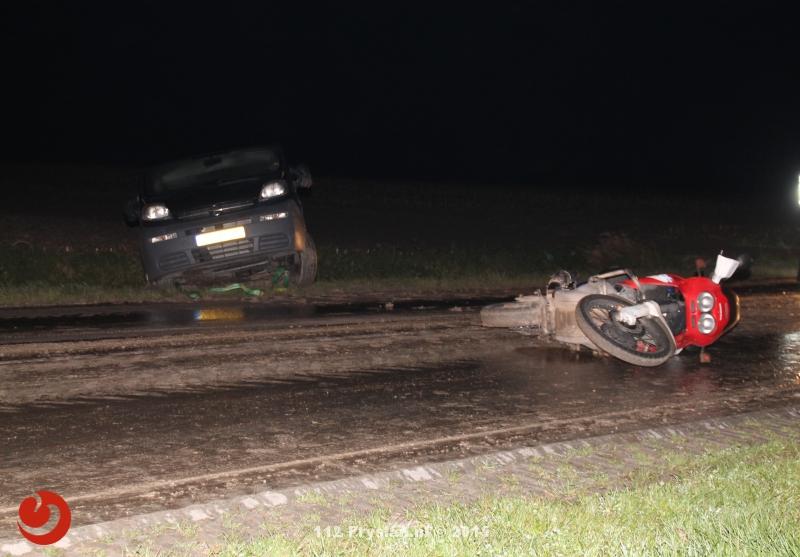 Glad wegdek zorgt voor ongevallen op Ljouwerterdyk