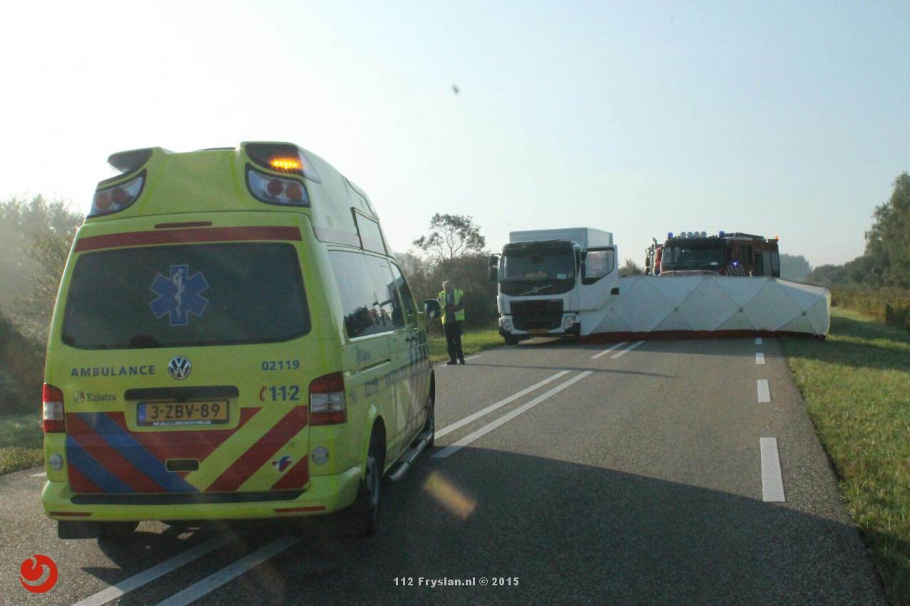 Twee personen omgekomen bij ongeval Lauwersoog