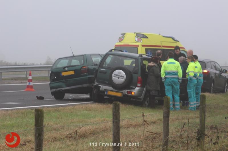 Ongevallen tijdens mist