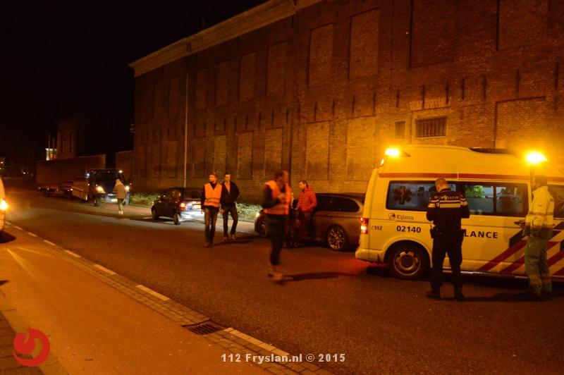 Gewonde bij verkeersongevallen in Leeuwarden