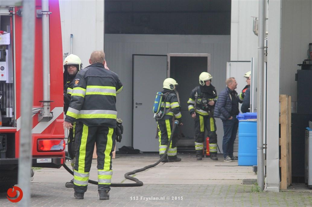 Man gewond na explosie in vleesbedrijf