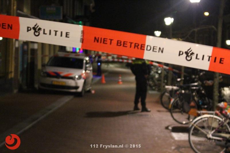 Schietincident bij kapper binnenstad Leeuwarden