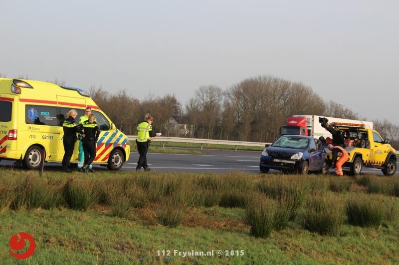 Eenzijdig ongeval A31