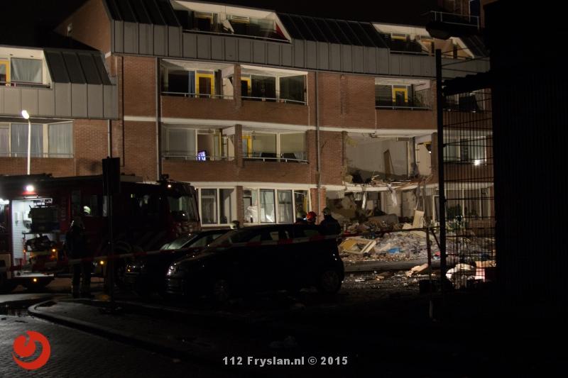 Ravage en gewonde na explosie in flat