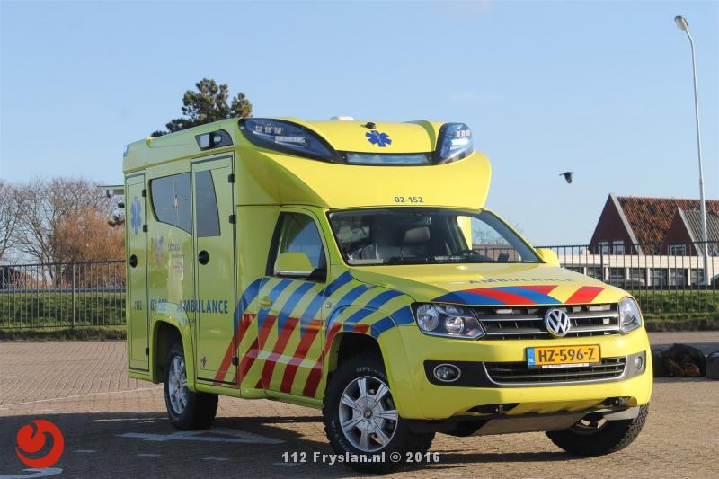 Nieuwe unieke ambulance voor Terschelling