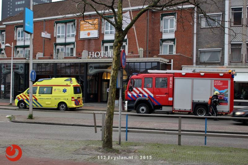 Gewonde bij ongeval in hotel