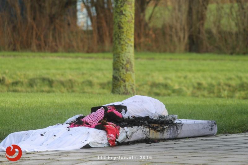 Opnieuw matras in brand bij GGZ instelling Franeker