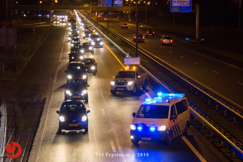 Tweetal ongelukken op de A7 en N31 bij Drachten