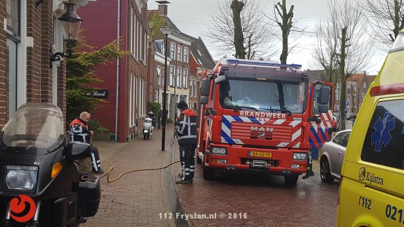 Groot alarm voor brand in binnenstad Franeker