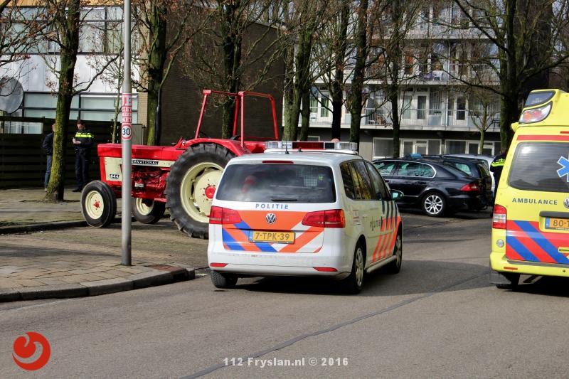 Jongetje (9) ernstig gewond bij ongeval met tractor