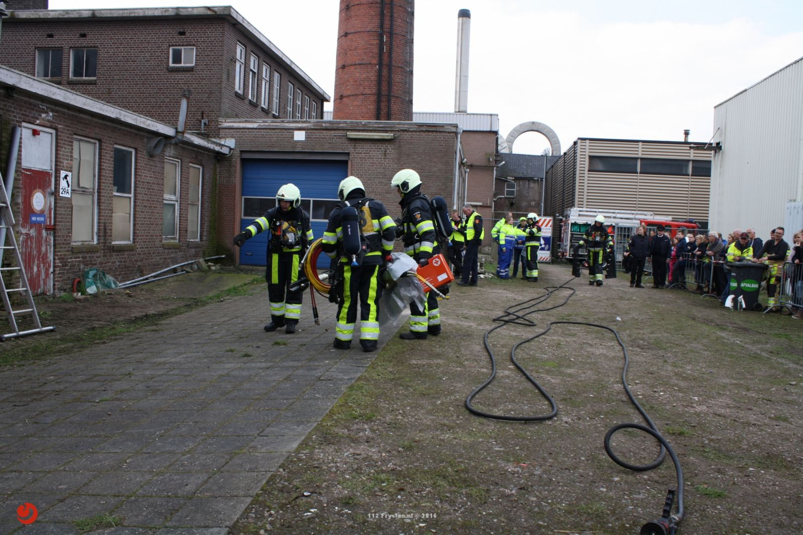 Brandweer Jubbega behaald eerste plaats bij brandweerwedstrijden