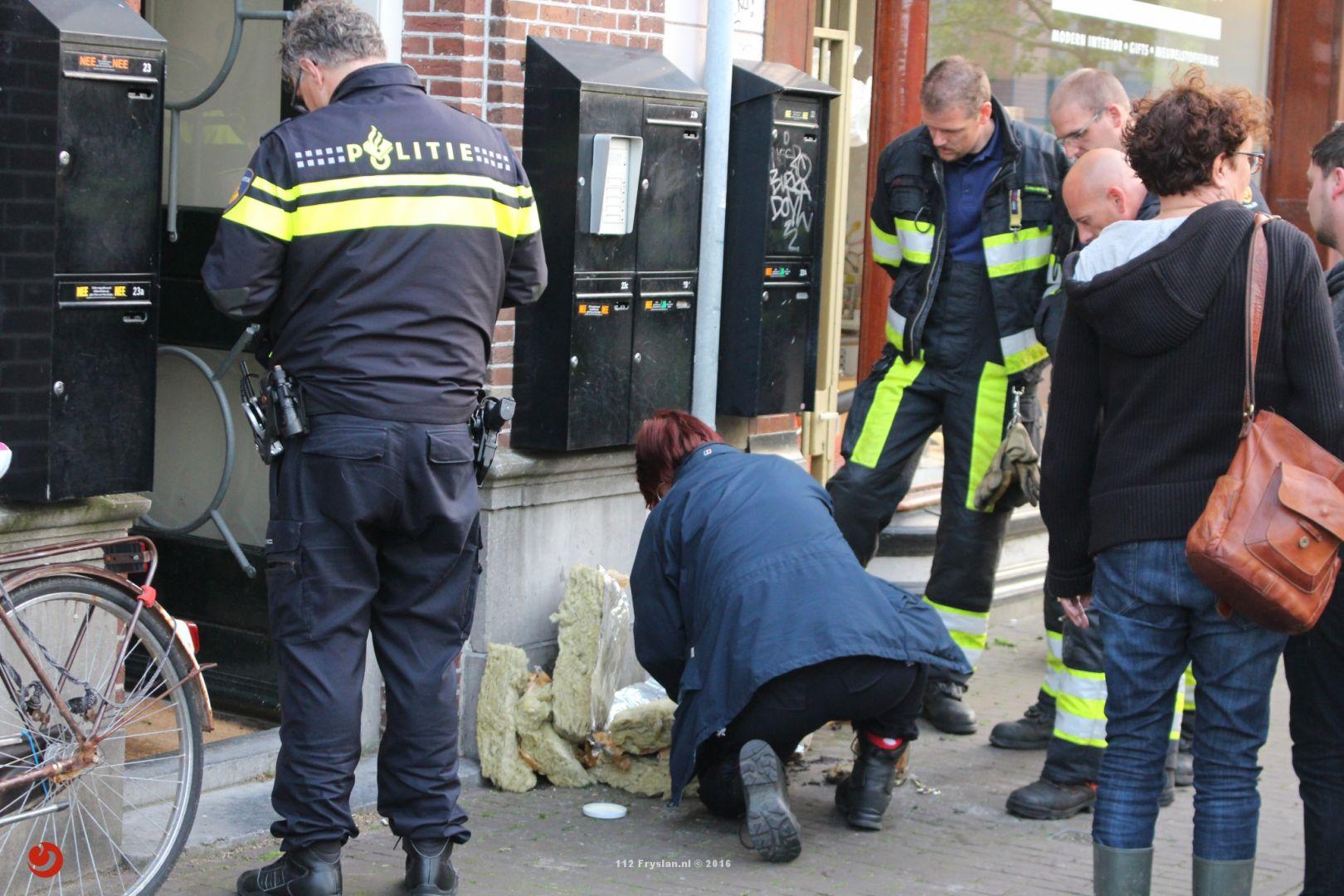Man aangehouden voor brandstichting Zuidergrachtswal