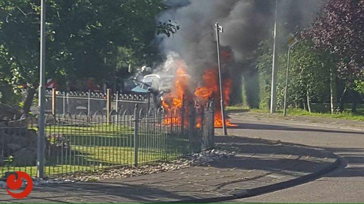 Combi: Brandweerkorpsen in actie voor verschillende brandmeldingen