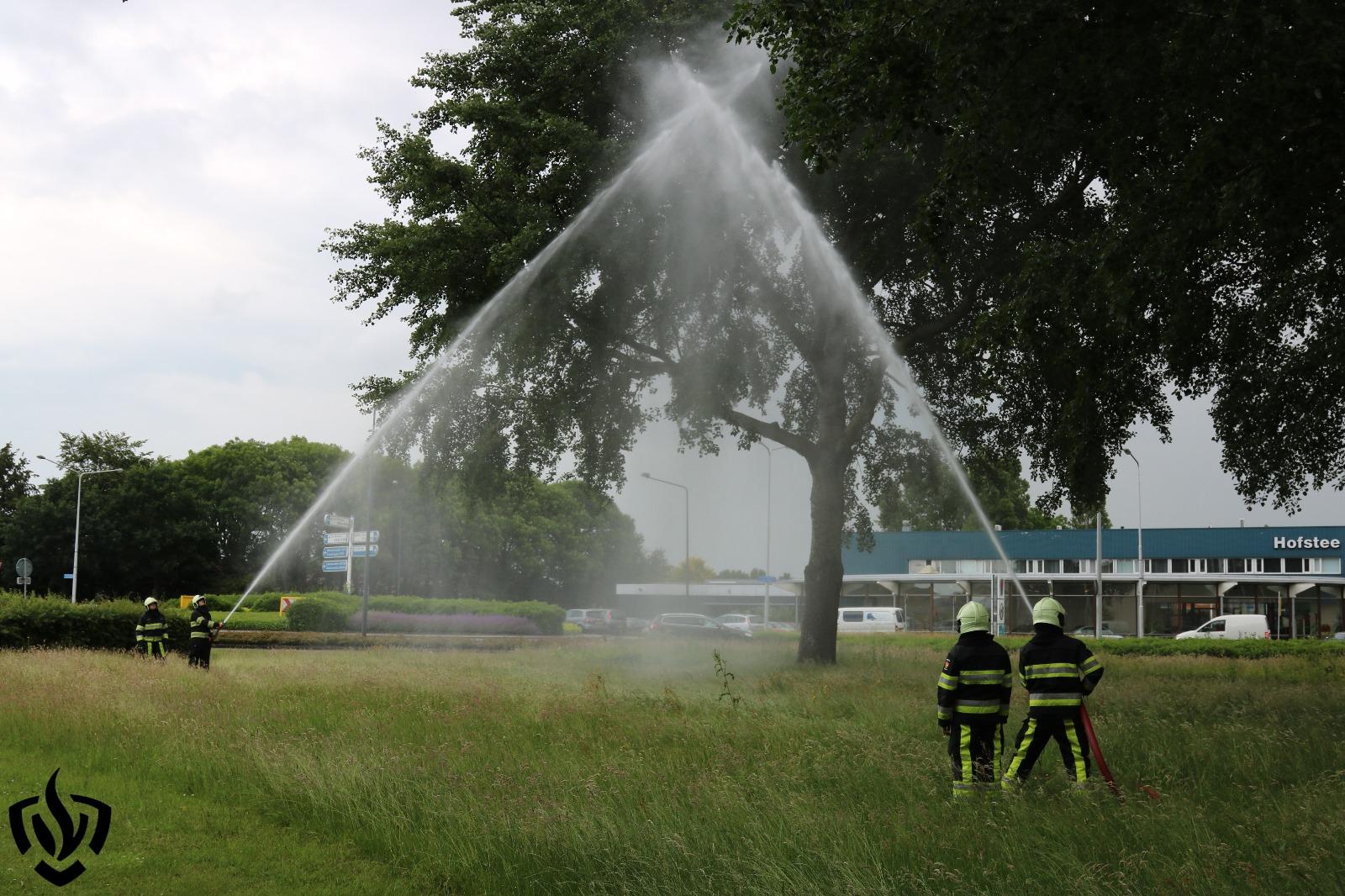 Brandweer herdenkt omgekomen collega's