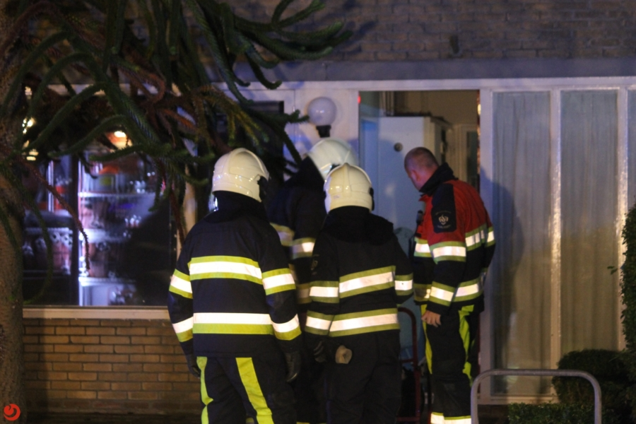 Veel rook bij keukenbrand in woning van zorgcentrum in Harlingen