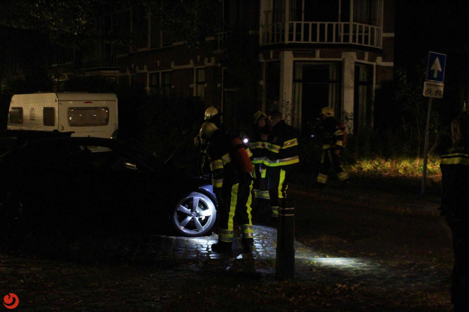 Twee auto's in brand gestoken