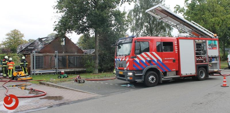 Brandweer zeer snel ter plaatse bij forse schuurbrand