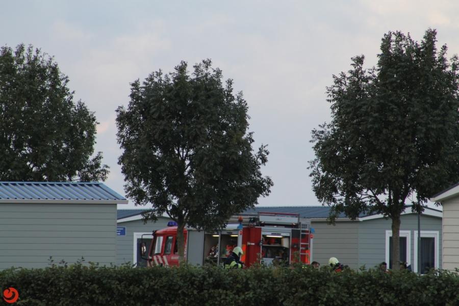 Stacaravan uitgebrand op terrein AZC