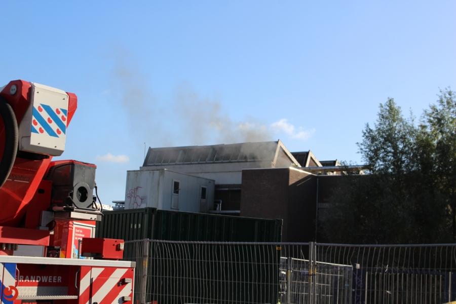 Alweer brand bij voormalige Brada