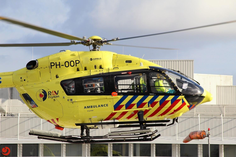 Eerste patiëntenvlucht voor ambulancehelikopter