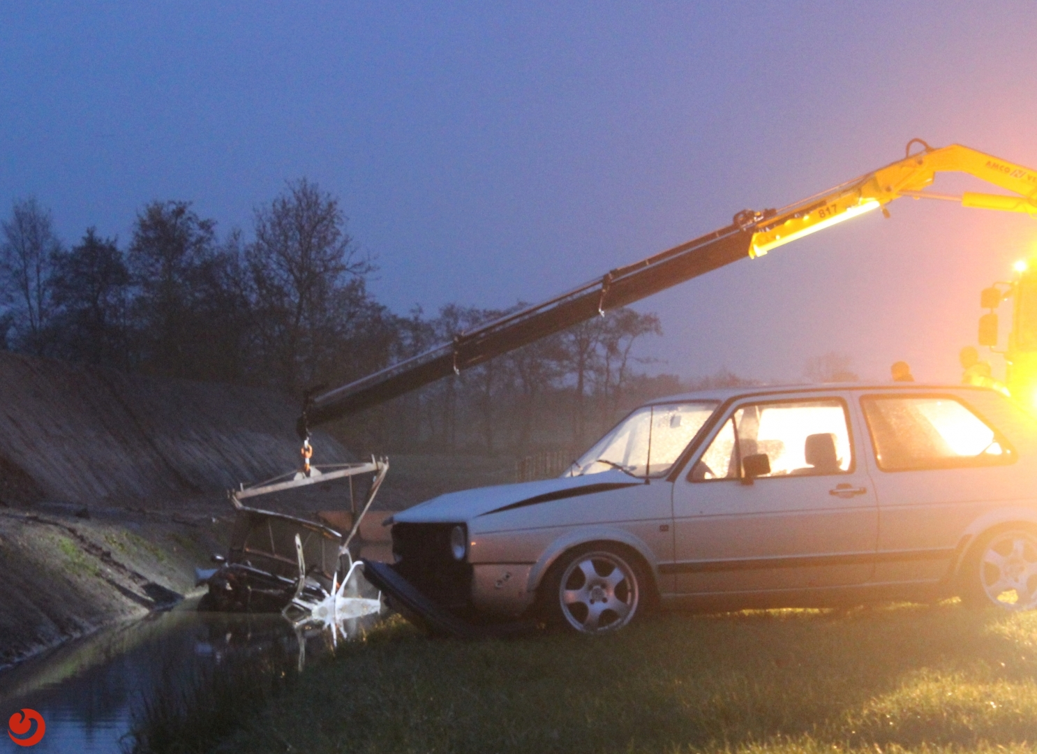 Twee auto's betrokken bij ongeval