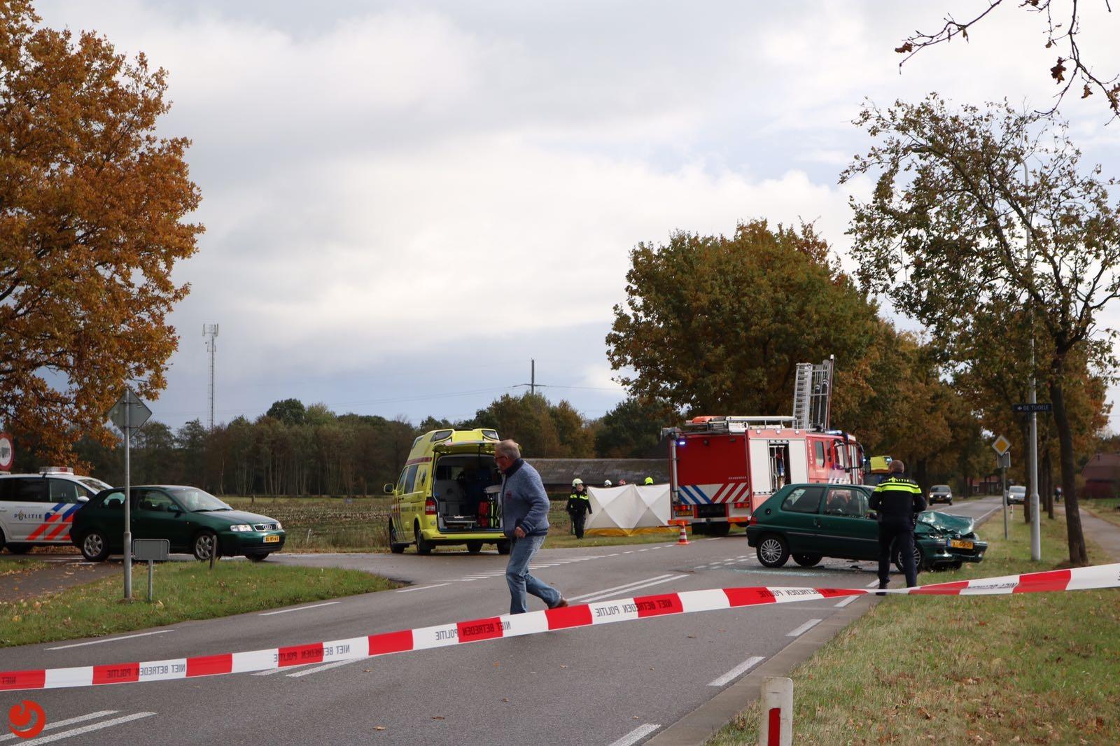 Twee gewonden bij botsing in Gorredijk