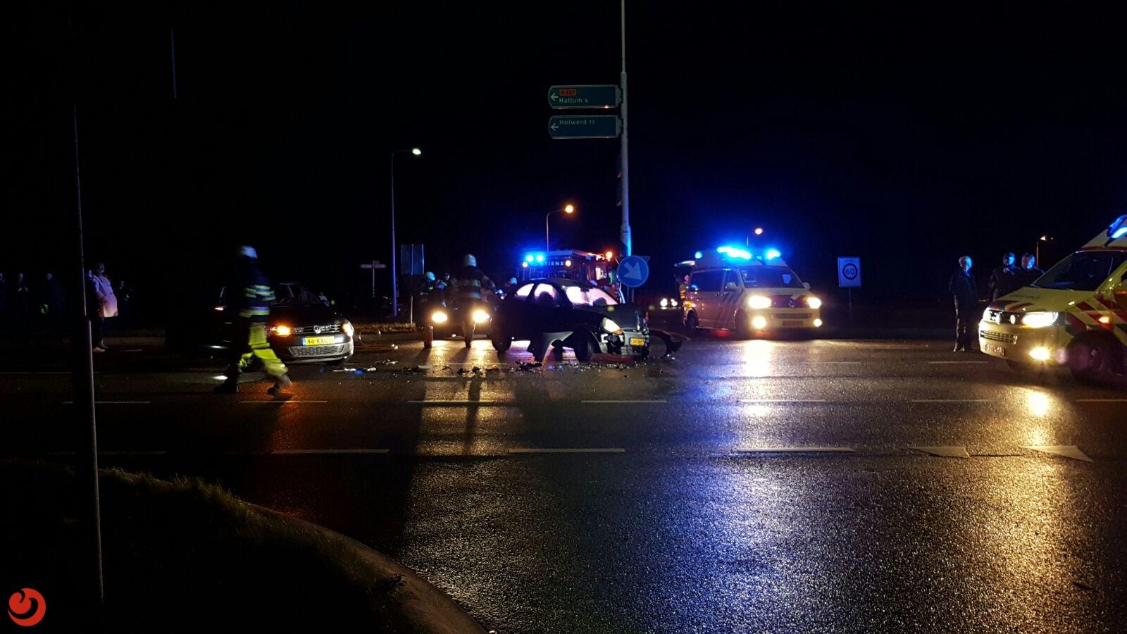 Gewonde bij verkeersongeval Bredyk – N357