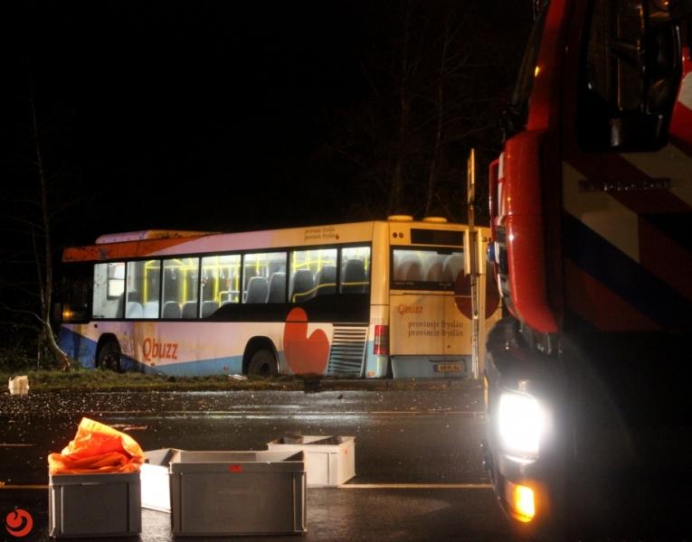 Meerdere mensen gewond na ongeval met lijnbus