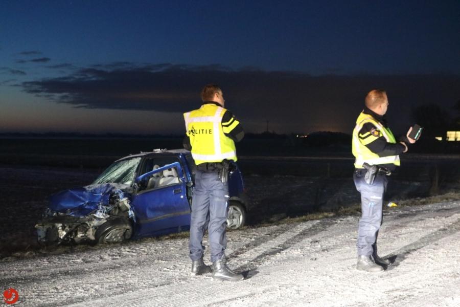 Drie gewonden bij ernstig ongeval