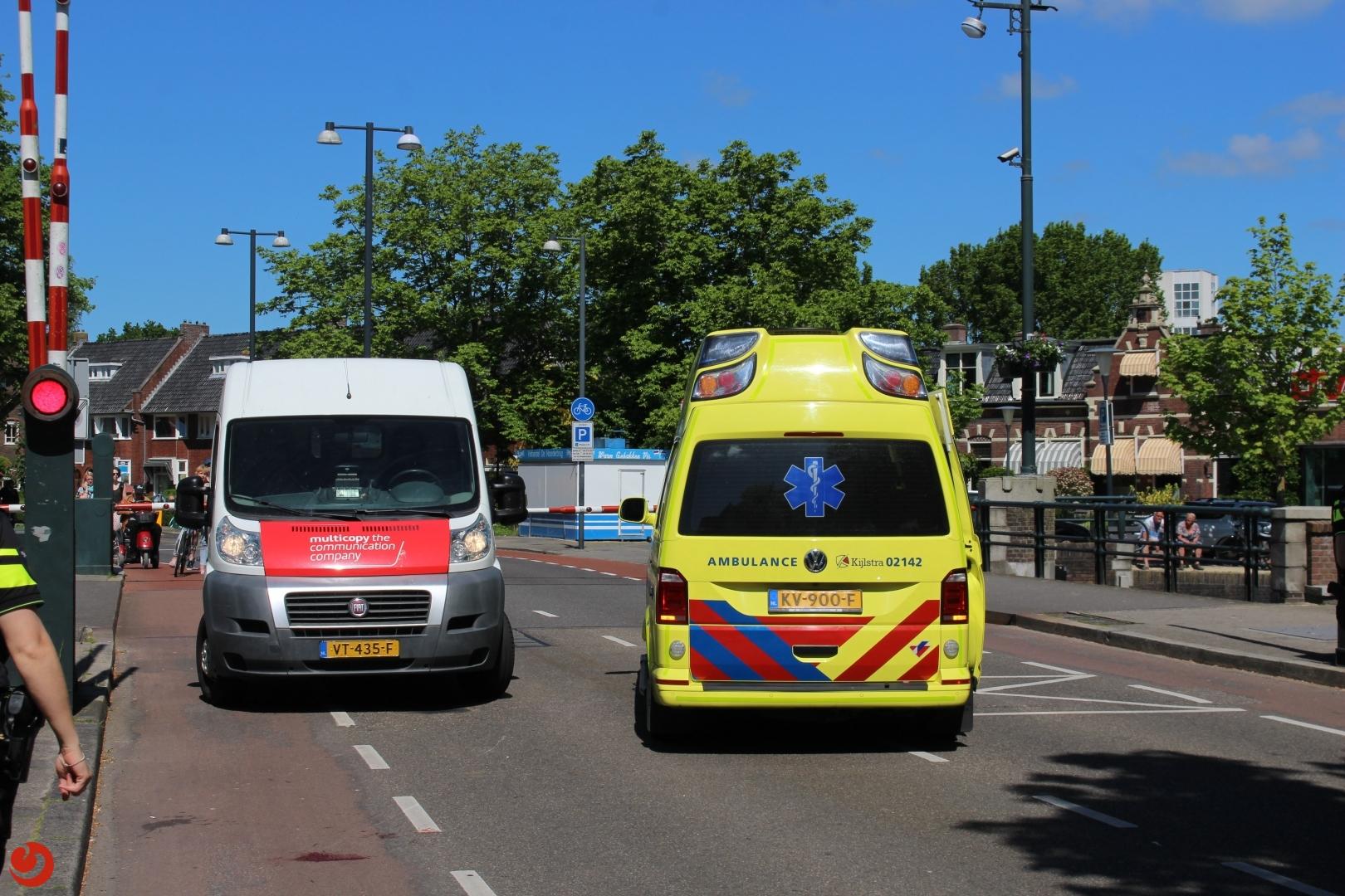 Fietsster gewond bij ongeval Noorderbrug