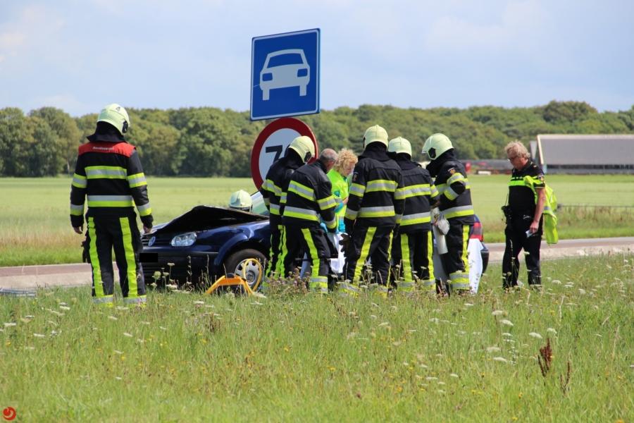 Meerdere gewonden bij ongeval op N359