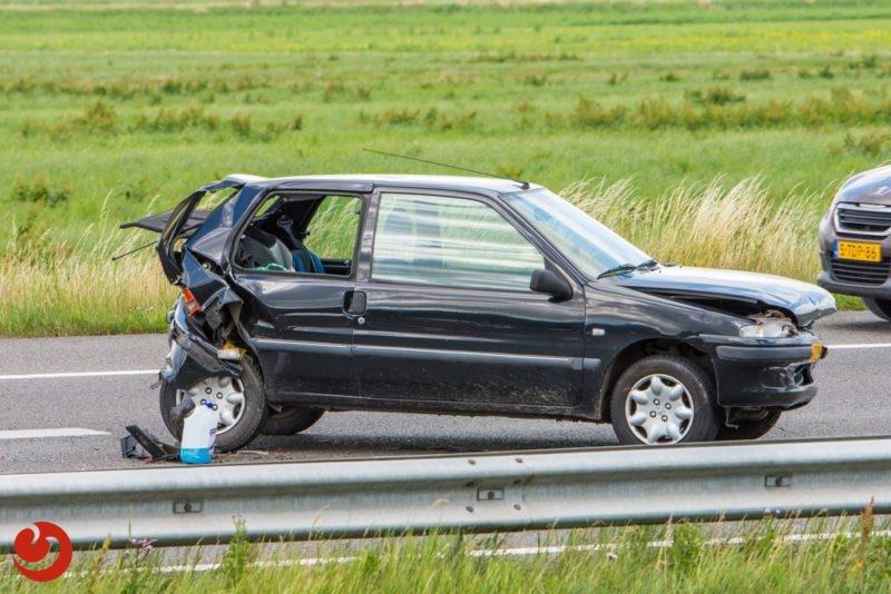 Gewonde bij ongeval op A32