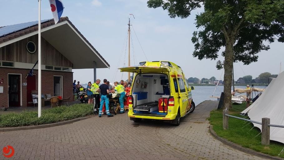 Jongetje zwaargewond na ongeval met boot