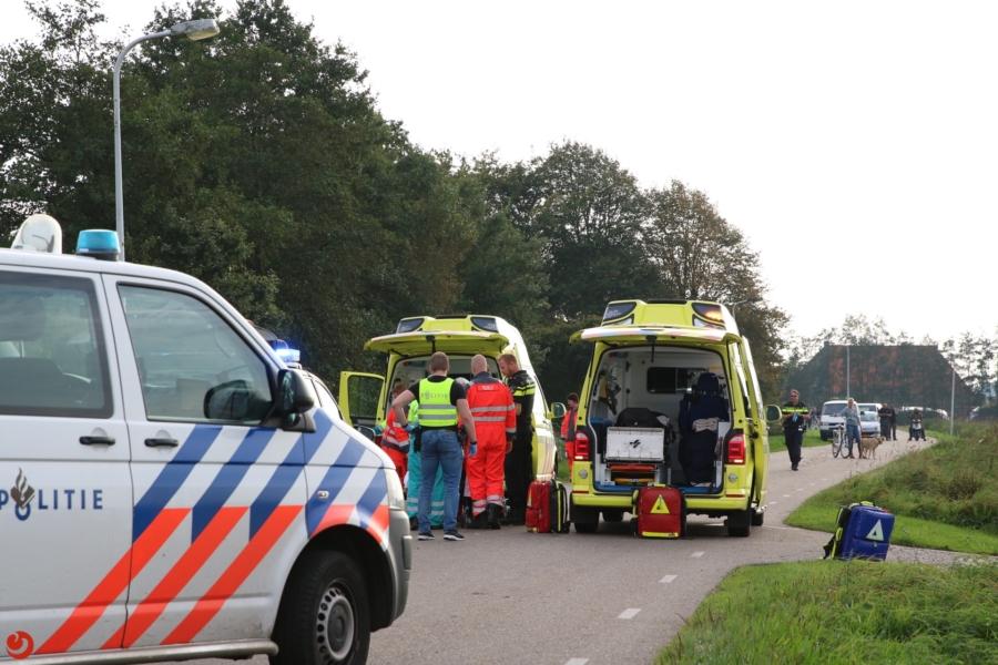 Jongen gewond bij botsing met auto