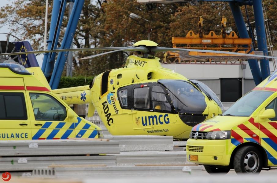 Twee zwaargewonden bij bedrijfsongeval