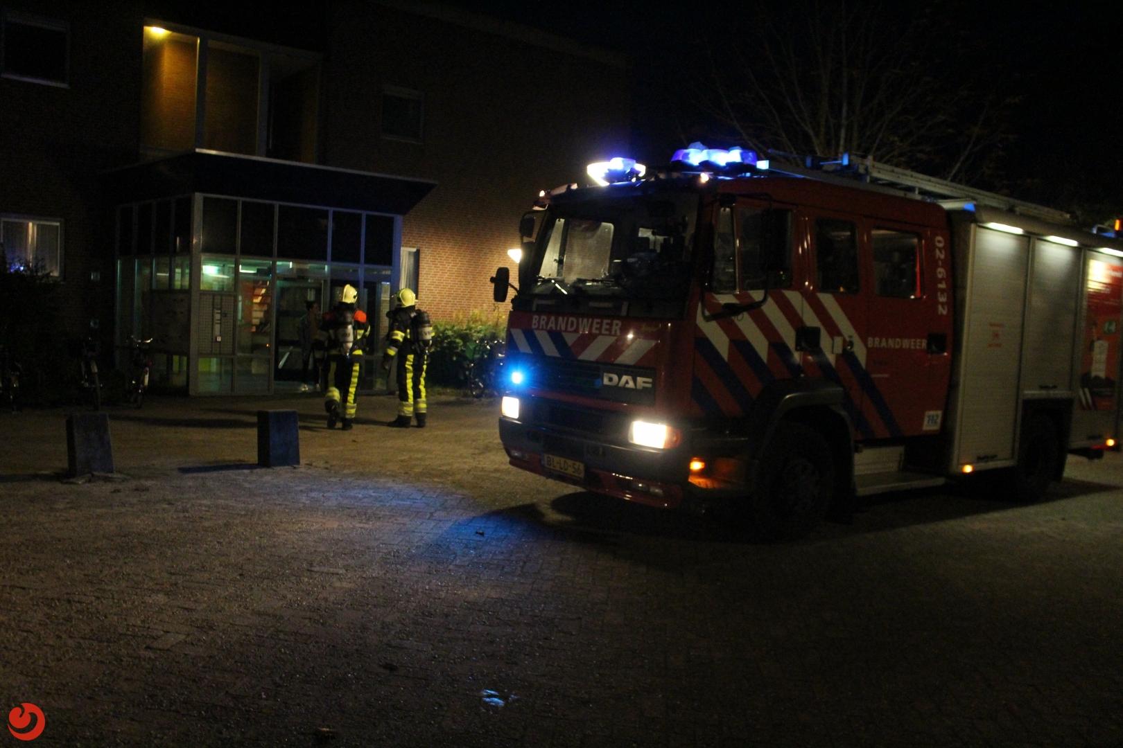 Brand in opvang: drie bewoonsters naar het ziekenhuis