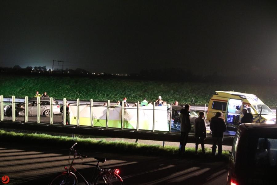 Gewonde en dode bij ernstig ongeval A32
