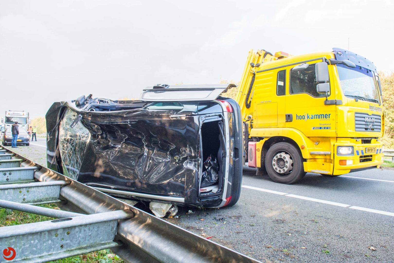 Meerdere gewonden bij ongeval op de A32