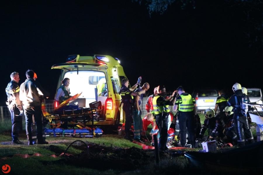Twee gewonden door gasexplosie op boot