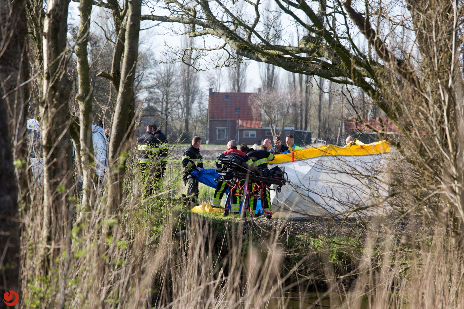 Quadrijder(63) overleden na eenzijdig ongeval