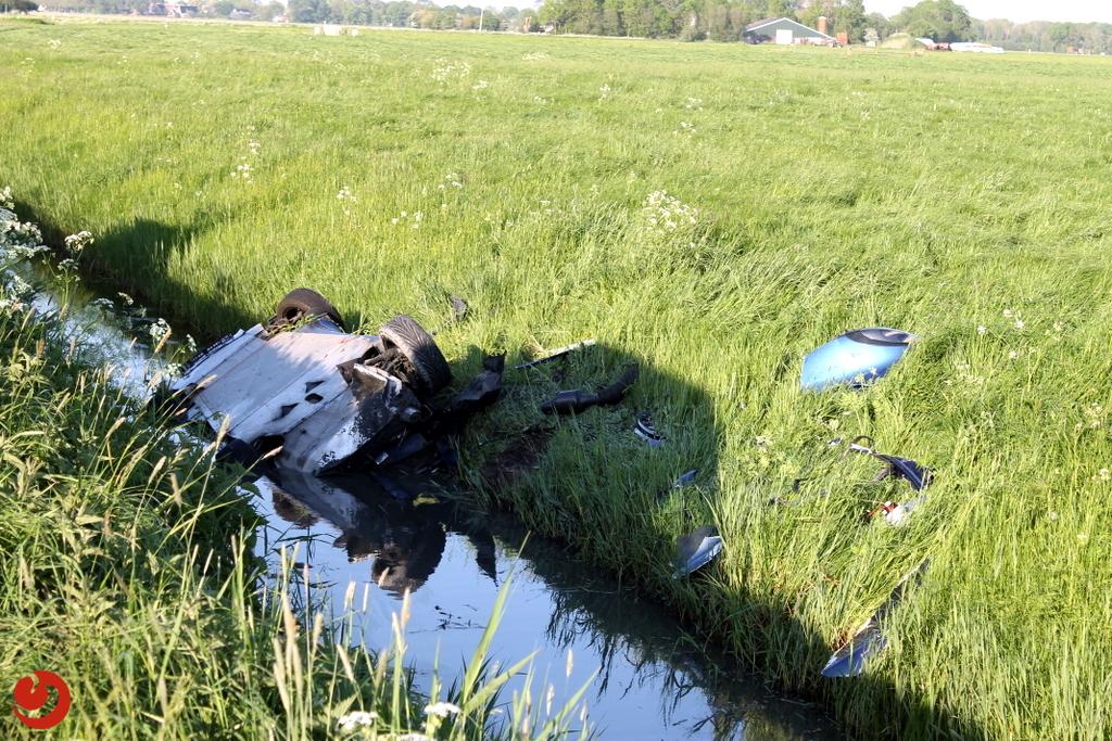 Geen gewonden na ongeval