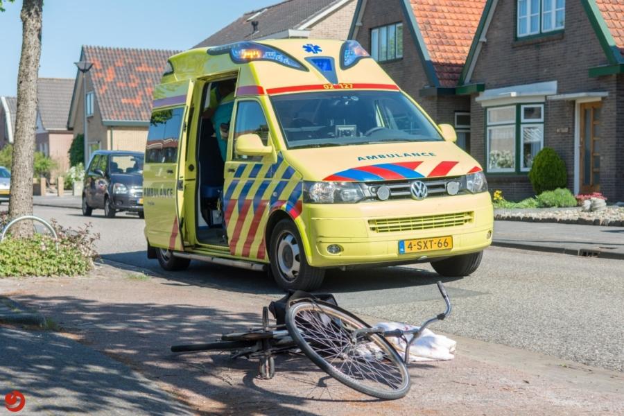 Fietser gewond na ongeval met zijspan