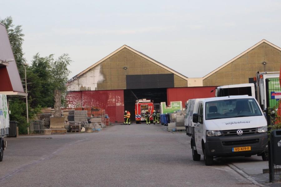 Asbest vrijgekomen bij brand in loods