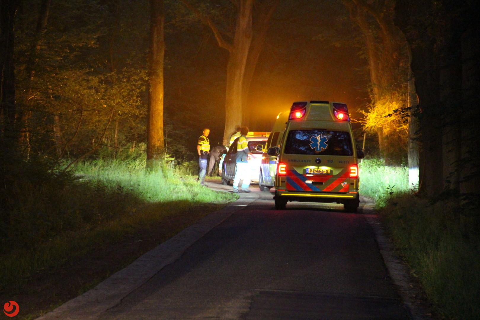 Motorrijder ernstig gewond na politieachtervolging