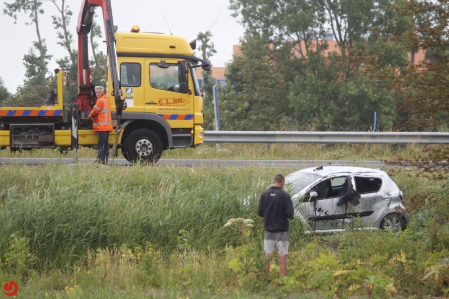 Gewonde eenzijdig ongeval N31